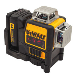 DeWalt -  12V Compatible Self-Leveling 3x360 Laser - Red Beam - DW089LR
