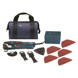 Bosch -  StarlockPlus® Oscillating Multi-Tool Kit with Snap-In Blade Attachment - GOP40-30B