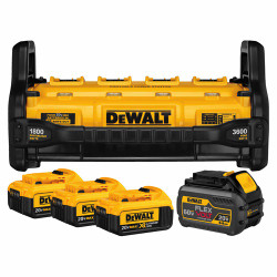 DeWalt -  1800 WATT PORTABLE POWER STATION AND PARALLEL BATTERY CHARGER KIT - DCB1800M3T1