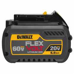 DeWalt -  20V/60V MAX* FLEXVOLT 6.0 AH BATTERY - DCB606