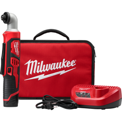 "Milwaukee 2467-21 - M12™ 1/4"" Hex Right Angle Impact Driver Kit"