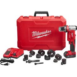"Milwaukee 2677-21 - M18™ FORCE LOGIC™ 6T Knockout Tool 1/2"" - 2"" Kit"