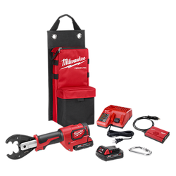 Milwaukee 2678-22O - M18™FORCE LOGIC™ 6T Utility Crimper Kit with D3 Grooves and Fixed O Die