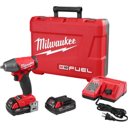 "Milwaukee 2754-22CT - M18 FUEL™ 3/8"" Compact Impact Wrench w/ Friction Ring Kit - CP Batteries"