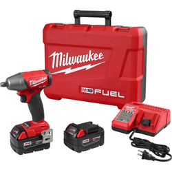 "Milwaukee 2755B-22 - M18 FUEL™ 1/2"" Compact Impact Wrench w/ Friction Ring Kit"