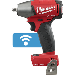 "Milwaukee 2758-20 - M18 FUEL™ with ONE-KEY™ 3/8"" Compact Impact Wrench w/ Friction Ring (Tool Only)"
