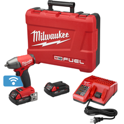 "Milwaukee 2758-22CT - M18 FUEL™ with ONE-KEY™ 3/8"" Compact Impact Wrench w/ Friction Ring Kit"