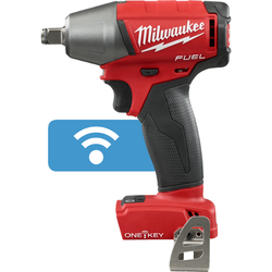 "Milwaukee 2759B-20 - M18 FUEL™ with ONE-KEY™ 1/2"" Compact Impact Wrench w/ Friction Ring (Tool Only)"