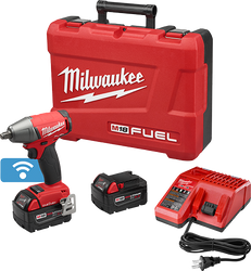 "Milwaukee 2759B-22 - M18 FUEL™ with ONE-KEY™ 1/2"" Compact Impact Wrench w/ Friction Ring Kit"