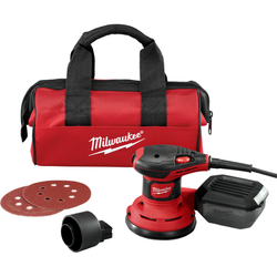 "Milwaukee 6034-21 - 5"" Random Orbit Palm Sander"