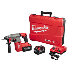 "Milwaukee 2712-22HD - M18 FUEL™ 1"" SDS Plus Rotary Hammer Kit"