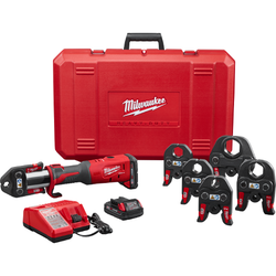 "Milwaukee 2773-22 - M18™ FORCE LOGIC™ Press Tool Kit with ½"" – 2"" Jaws"