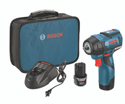 Bosch -  12V MAX EC Brushless 3/8 In. Impact Wrench Kit - PS82-02