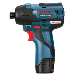 Bosch -  12V MAX EC Brushless Impact Driver with Exact-Fit™ Insert Tray - PS42BN