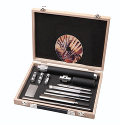 Robert Sorby SOV-67DBS - Sovereign Turning Tool 6 Piece Set in Wooden Box
