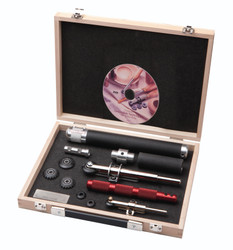 Robert Sorby SOV-3370DBS - Sovereign Spiral & Texture Set in Wooden Box
