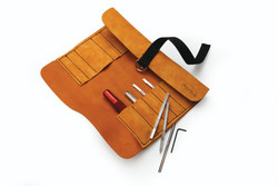 Robert Sorby 888TROLL - Leather Roll 12 Piece Set