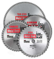 "MK Morse CSM6504020CLSC - Metal Cutting Circular Saw Blade 6-1/2"" 40T, Steel, Made for Cordless Metal Saws, 20mm Arbor"