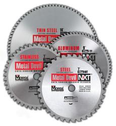 """MK Morse CSM744NSSC - Metal Cutting Circular Saw Blade 7"""" 44T, Stainless Steel, 20mm Arbor"""