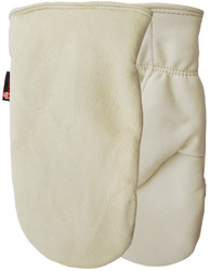 Watson Expedition North 9246I - White Out Sherpa Lined Short Mitt - Large