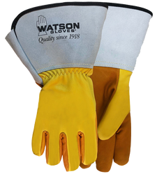 Watson Storm 9407GCR - Ice Storm C100 Oil Resistant W/Gauntlet Cuff & Cut Shield - Large
