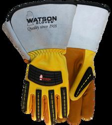 Watson Storm Trooper 95782GCR - Lined Storm Trooper Gauntlet W/C100 & Cut Shield - Double eXtra Large (2XL)