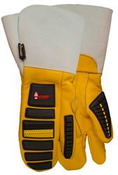 Watson Storm Trooper 957831FG - Lined Storm Trooper 1 Finger Mitt Gauntlet - Large