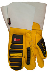 Watson Storm Trooper 957831FG - Lined Storm Trooper 1 Finger Mitt Gauntlet - eXtra Large