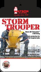 Watson Storm Trooper 95783 - Lined Storm Trooper Mitt No Gauntlet - Large