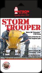 Watson Storm Trooper 95783 - Lined Storm Trooper Mitt No Gauntlet - Medium