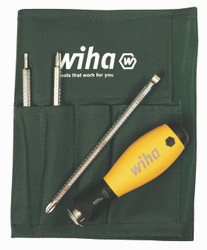 Wiha 10891 - ESD Safe Slotted & Phillips Blade Set