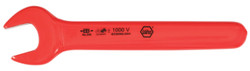 Wiha 20022 - Insulated Open End Wrench 22.0mm