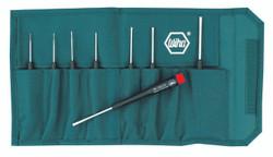 Wiha 26099 - Precision Slotted Screwdriver 8 Pc. Set