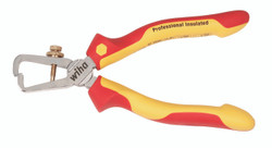 """Wiha 32860 - Insulated Stripping Pliers 6.3"""""""