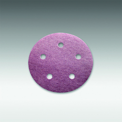 "Sia Abrasives - 5"", 5 hole Velcro Sanding Disc 60 Grit Box/100Pcs"