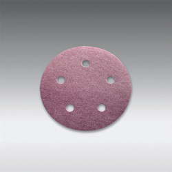 "Sia Abrasives - 5"", 5 hole Velcro Sanding Disc 220 Grit Box/100Pcs"