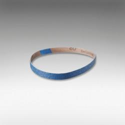 "Sia Abrasives - 3/8""W x 21""L Zirconia Sanding Belt 120 Grit"