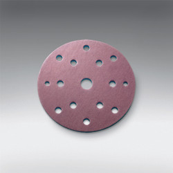 "Sia Abrasives - 5"" (125mm), 10 hole Velcro Sanding Disc (Festool Pattern) 220 Grit Box/100Pcs"