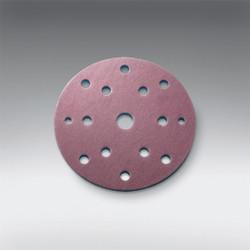"Sia Abrasives - 5"" (125mm), 10 hole Velcro Sanding Disc (Festool Pattern) 320 Grit Box/100Pcs"