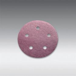 "Sia Abrasives - 5"", 5 hole Velcro Sanding Disc 220 Grit 10Pcs/Pack"