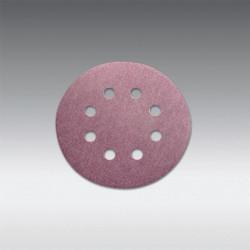 "Sia Abrasives - 5"", 8 hole Velcro Sanding Disc 80 Grit 10Pcs/Pack"