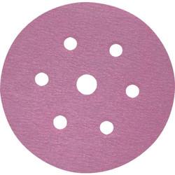 "Sia Abrasives - 6"", 6 hole Velcro Sanding Disc 60 Grit 10Pcs/Pack"