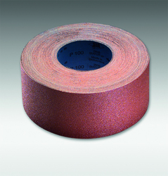 "Sia Abrasives - 3"" Sanding Roll, Cloth Back, 55 yards, 120 Grit"
