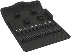 Wera 05136467001 - Textile Box Kk Zyklop 8100 Sa Speed Tool Bag, Empty