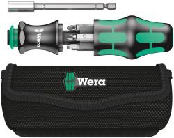 Wera 05134491001 - Kraftform Kompakt 28 Combi-Driver With Magazine And Pouch