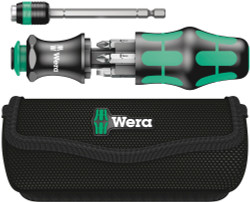 Wera 05051021001 - Kraftform Kompakt 20 Combi-Driver With Magazine