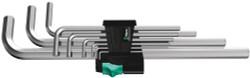 Wera 05021909001 - 950 L/9 Sm N Long Arm Hex Key Set