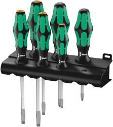 Wera 05007681001 - 334/355 Sk/6 Lasertip Rack S/Driver Set