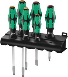 Wera 05007680001 - 334 Sk/6 Lasertip Rack S/Driver Set