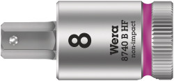 """Wera 05003089001 - 8740 B Hf Hex-Plus Sw 1/4"""" X 35 Mm Zyklop Bit Socket With 3/8"""" Drive Holding Function"""